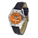 Oregon State Beavers Sport AnoChrome Ladies Watch with Leather Band