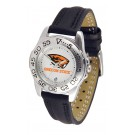 Oregon State Beavers Ladies Sport Watch with Leather Band