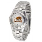 Oregon State Beavers Ladies Sport Watch with Stainless Steel Band