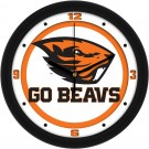 "Oregon State Beavers Traditional 12"" Wall Clock"