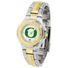 Oregon Ducks Competitor Ladies Watch with Two-Tone Band