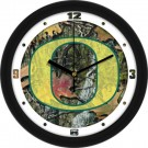 "Oregon Ducks 12"" Camo Wall Clock"
