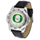 Oregon Ducks Men's Sport Watch with Leather Band