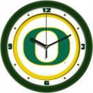 "Oregon Ducks Traditional 12"" Wall Clock"