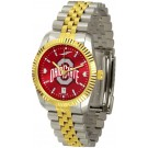 Ohio State Buckeyes Executive AnoChrome Men's Watch by