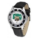 Ohio Bobcats Competitor Men's Watch with Nylon / Leather Band