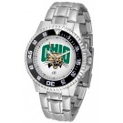 Ohio Bobcats Competitor Men's Watch with Steel Band