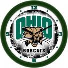 "Ohio Bobcats 12"" Dimension Wall Clock"