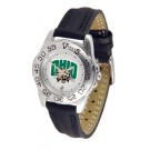 Ohio Bobcats Ladies Sport Watch with Leather Band