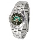 Ohio Bobcats Sport AnoChrome Ladies Watch with Steel Band