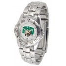 Ohio Bobcats Ladies Sport Watch with Stainless Steel Band