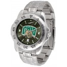 Ohio Bobcats Sport Steel Band Ano-Chrome Men's Watch