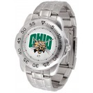 Ohio Bobcats Sport Steel Band Men's Watch