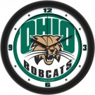 "Ohio Bobcats Traditional 12"" Wall Clock"