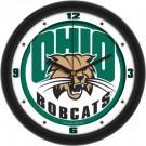 """Ohio Bobcats Traditional 12"""" Wall Clock"""