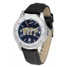 Pittsburgh Panthers Competitor AnoChrome Men's Watch with Nylon/Leather Band