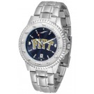 Pittsburgh Panthers Competitor AnoChrome Men's Watch with Steel Band