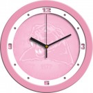 "Pittsburgh Panthers 12"" Pink Wall Clock"