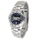Pittsburgh Panthers Sport AnoChrome Ladies Watch with Steel Band