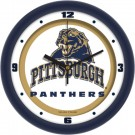 "Pittsburgh Panthers Traditional 12"" Wall Clock"