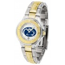 Penn State Nittany Lions Competitor Ladies Watch with Two-Tone Band