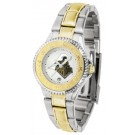 Purdue Boilermakers Competitor Ladies Watch with Two-Tone Band