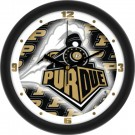 "Purdue Boilermakers 12"" Dimension Wall Clock"