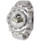Purdue Boilermakers Sport Steel Band Men's Watch