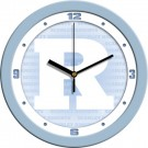 "Rutgers Scarlet Knights 12"" Blue Wall Clock"