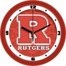 "Rutgers Scarlet Knights 12"" Dimension Wall Clock"