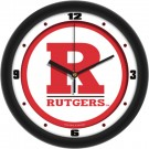 "Rutgers Scarlet Knights Traditional 12"" Wall Clock"