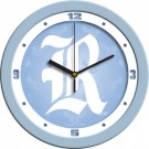 "Rice Owls 12"" Blue Wall Clock"