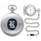 Rice Owls Silver Pocket Watch