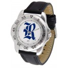 Rice Owls Men's Sport Watch with Leather Band