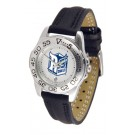 Rice Owls Ladies Sport Watch with Leather Band