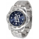Rice Owls Sport Steel Band Ano-Chrome Men's Watch