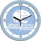 "South Alabama Jaguars 12"" Blue Wall Clock"