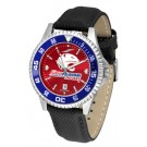 South Alabama Jaguars Competitor AnoChrome Men's Watch with Nylon/Leather Band and Colored Bezel