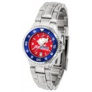 South Alabama Jaguars Competitor AnoChrome Ladies Watch with Steel Band and Colored Bezel