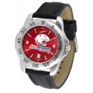 South Alabama Jaguars Sport AnoChrome Men's Watch with Leather Band