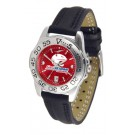 South Alabama Jaguars Sport AnoChrome Ladies Watch with Leather Band