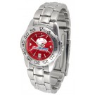South Alabama Jaguars Sport AnoChrome Ladies Watch with Steel Band