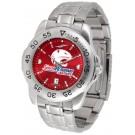 South Alabama Jaguars Sport Steel Band Ano-Chrome Men's Watch