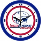 "South Alabama Jaguars Traditional 12"" Wall Clock"