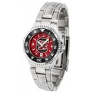 South Carolina Gamecocks Competitor AnoChrome Ladies Watch with Steel Band and Colored Bezel