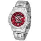 South Carolina Gamecocks Competitor AnoChrome Men's Watch with Steel Band
