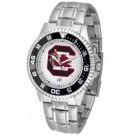 South Carolina Gamecocks Competitor Men's Watch with Steel Band