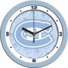 """St. Cloud State Huskies 12"""" Blue Wall Clock"""