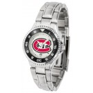 St. Cloud State Huskies Competitor Ladies Watch with Steel Band