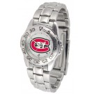 St. Cloud State Huskies Gameday Sport Ladies' Watch with a Metal Band
